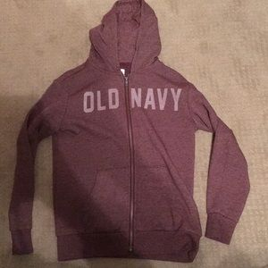 AS old navy zip hoodie